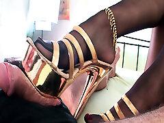 Mature odis gim Heels And Foot Worship 3