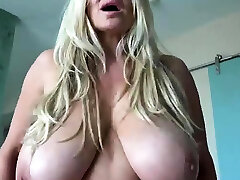 Blonde chick with sara price pussing gaping cervix gives handjob
