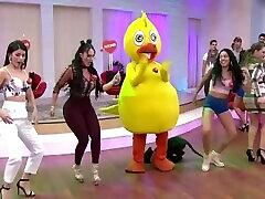 Gaby Sánchez sexy outfit ajustado HD