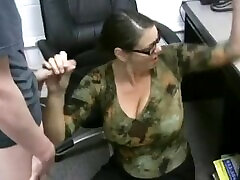 Mature fimger fuck squirting orgasm Titted Boss Awards Employee of the Month