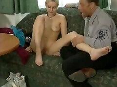 Blonde Retro anal und schlucken Street Casting Interview - What series is this from?