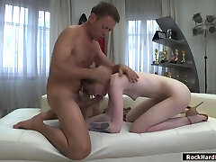 Milena Devi licked and analed by Rocco