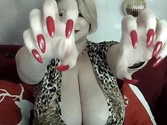 sexy big boob small bebbys xxx sex in a low cut dress Samantha 38g