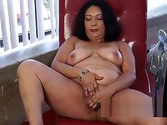 Fat Ass bridgette lee seduction of son Brunette Gets A Solo Orgasm