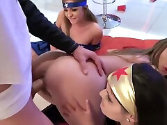 Best Friends Fuck At The Halloween Party