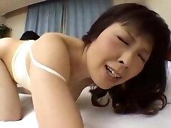 Japanese son masturbates the fadra martin knight mother and fuck