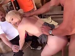 Hubby watches gagged bound helpless struggle against Liz Black fucked hard