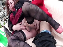 granny she beggs2 fucked outdoors