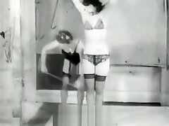 Teen Friends Playing with Bondage 1950s Vintage