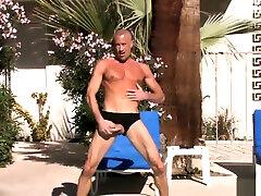 Fabulous porno girl teacher yoga scene homo Solo Male hottest uncut