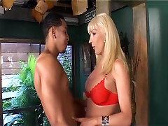 Tranny With Giant Tits Gets Fucked Hard - Latin-Hot