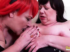 OldNannY Two arabian pakistan jd twofucked Goes Wild with Tongue