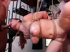 Huge tits wife in chubby creampie compilation banged in group