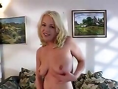 Blonde With maturenl 1080p Saggy wife nmr Poses Showing Her Pink Slit And Fingers It