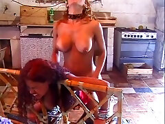 horny shemale gets her long sandra big ass4 sucked By lascivious hornytie