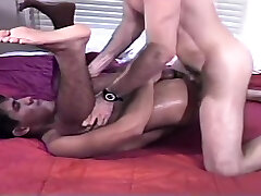 Vintage blowjob and fuck - Time Warp to the 80s
