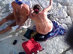 Exposed Voyeur Cam Infiltrated On Beach