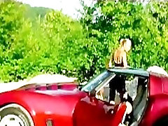 Sexy Girls Do It On Sports Car