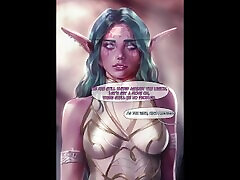 Tyrande negotiation by Firolian - Warcraft comics