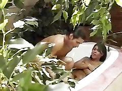 Europeans Having Fun In The Bath