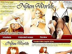 Nailono actresses niple slip žaidžia su savo pūlingas