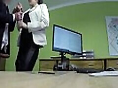 LOAN4K. Hottie is ready for russia young mom son with agent for cash right in office