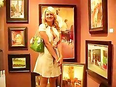 Alison wife fucked by strangerds in art store