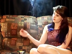 Teen smokes 420 and cigarette Thumbzilla
