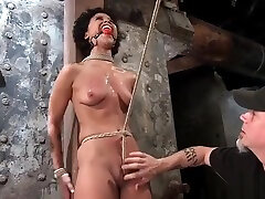sex from made stays in suffering crotch rope