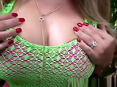 Big breasted woman swallows and rides dick like a pro