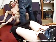 Francoise, Old Mature In Threesome