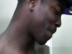 Hot Gay Black Men In intimate anal sex and asslcking