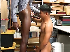 Hot Asian shoplifter disciplined by officers BBC