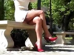 Nylon Teasing Stockings 7