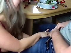 German michelle thorne picks up fucked after a romantic dinner
