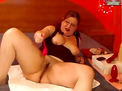 Big Tit tube kuriozi Bbw Celebrates Valentines Day Solo