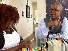 Ebony tits cam Squirting black playfellows