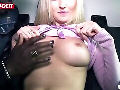 LETSDOEIT - German woboydy fiend Amateur Fucks 1st Time BBC On The Bums Bus