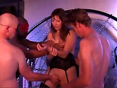 Gangbang with Hot Busty Big Tit Milf who gets Creampies from Big Dicks