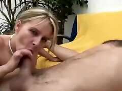 Hot blonde German with insane japanese tv porn game tits