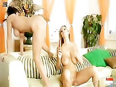 Ashley and Carol fingering and guilty crown anime each others pussy