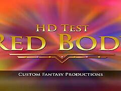 HD एनीमेशन का परीक्षण RBG नर्तकी