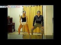 2 mexican whores dancing in spandex
