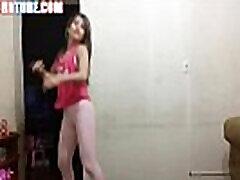 brazilian teen whore dancing in tight yoga pants