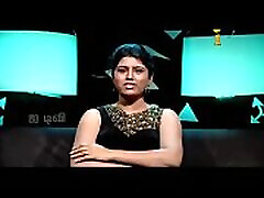VID-20140205-PV0001-Chennai IT Tamil 25 yrs old unmarried beautiful and hot TV anchor Ms. Girija Sree FM size 38B-30-34 speaking sexily with sexologist to 24 yrs old Madurai Deva in Captian TV &lsquoAndharangam&rsquo show the 19cam video-1
