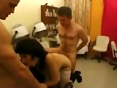 French hot anal pourn Threesome