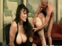 Granny gang bang orgy