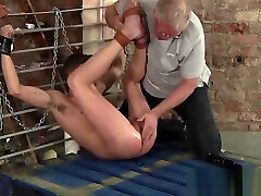 Twink BDSM Cameron James anal play fingering and dildo