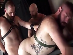 Leather loni evans solo threesome