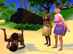 Sims 4 Lesbian Family Fuckfest - Island Family Vacation 3discontinued